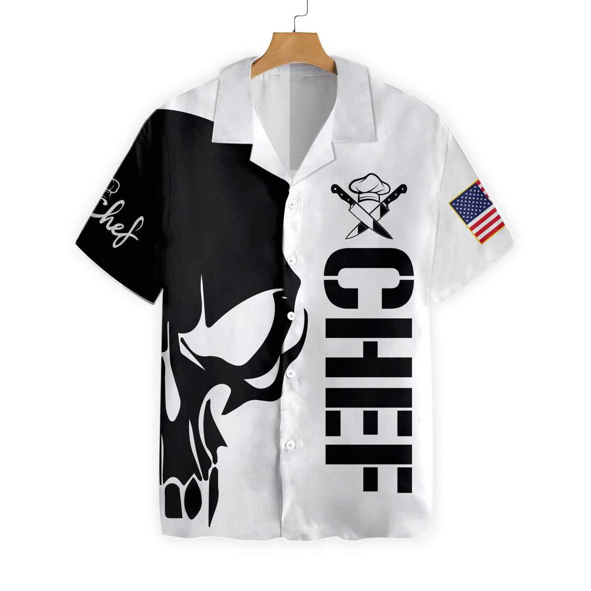 Skull Chef EZ22 0401 Hawaiian Shirt 1 1200x