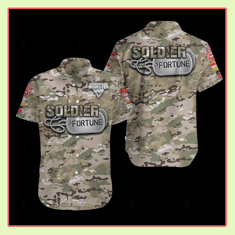 Soldier Fortune Hawaiian Shirt2 1
