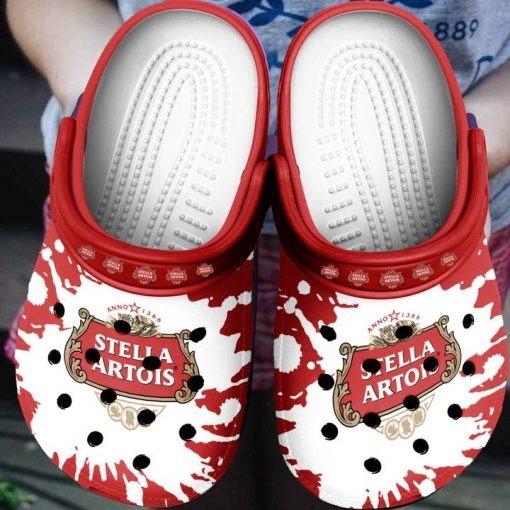 Stella Artois Beer Crocs Clog Shoes4 2