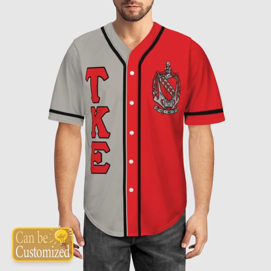 Tau Kappa Epsilon Personalized Baseball Jersey1