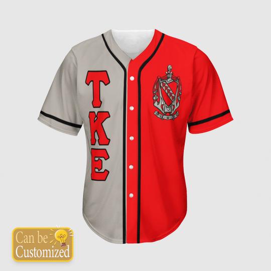 Tau Kappa Epsilon Personalized Baseball Jersey3