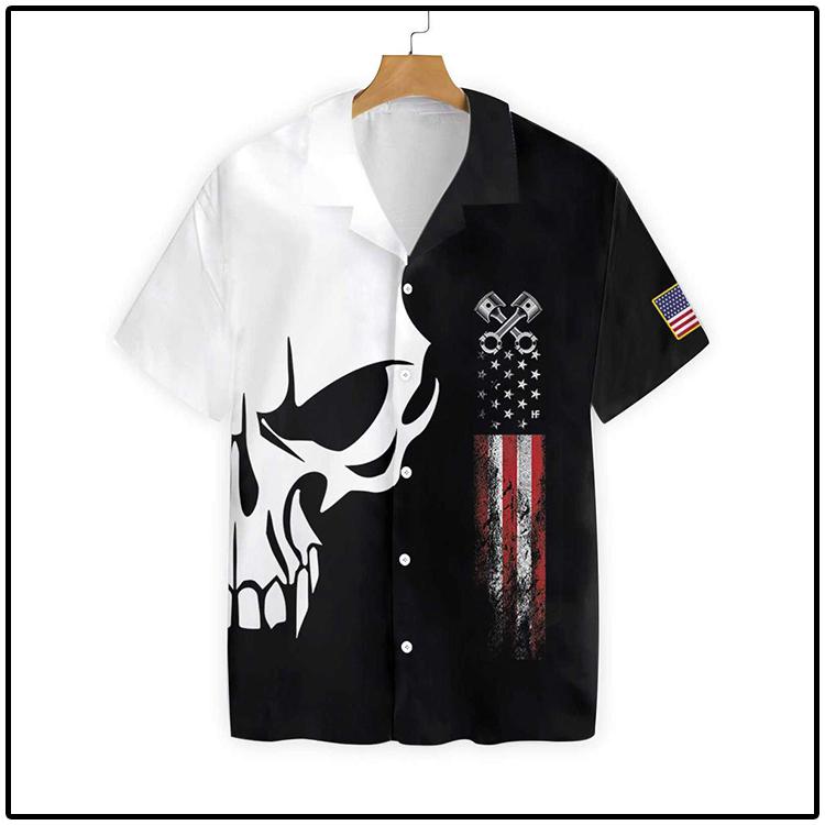 The Real Mechanic Shows Up Hawaiian Shirt3
