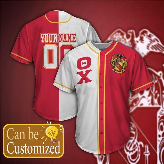 Theta Chi Personalized Baseball Jersey1