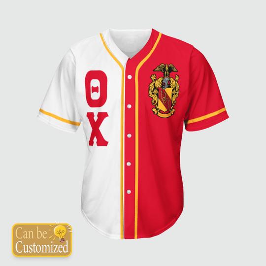 Theta Chi Personalized Baseball Jersey3