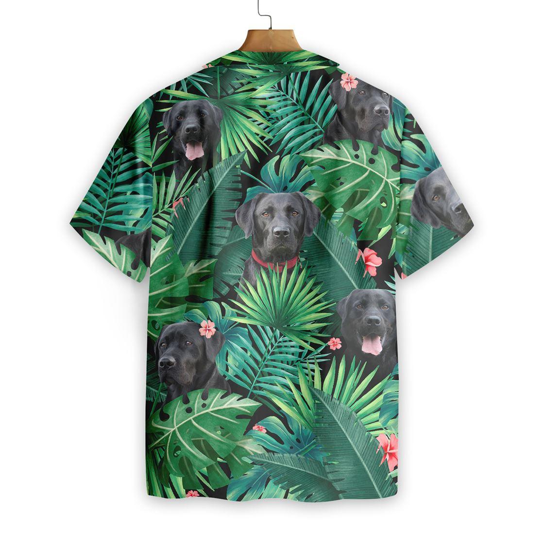 Tropical Labrador Hawaiian Shirt1