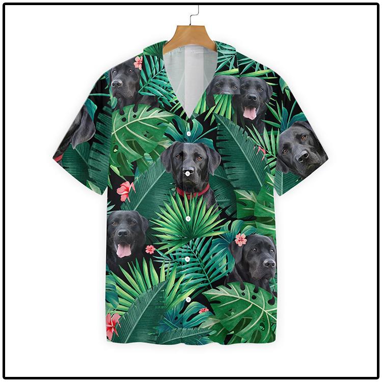 Tropical Labrador Hawaiian Shirt3