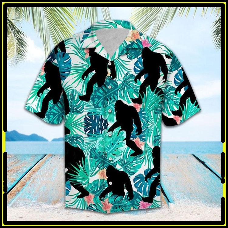 Tropical bigfoot hawaiian shirt6