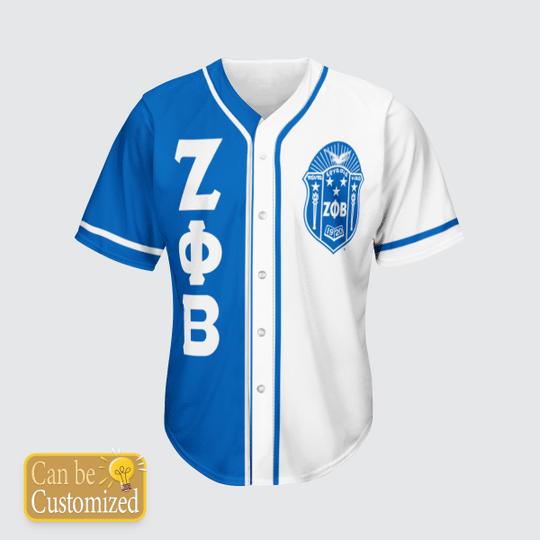 Zeta Phi Beta Personalized Unisex Baseball Jersey1