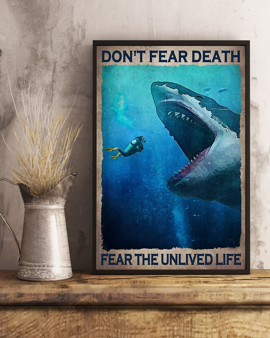 4 Dont fear death fear the unlived life Vertical Poster 3