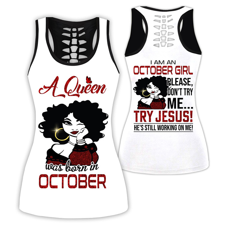 A Queen Was Born In October Custom Name Shirt And Hoodie3