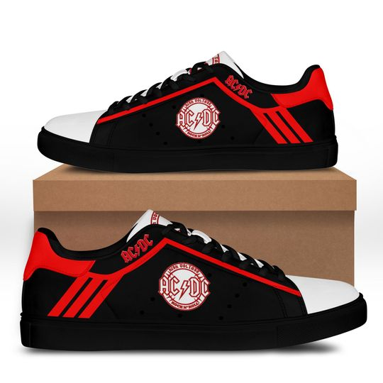 ACDC rock Stan Smith Shoes