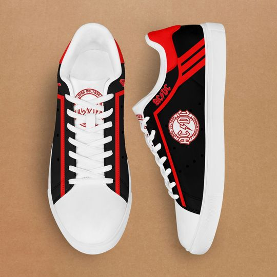 ACDC rock Stan Smith Shoes2