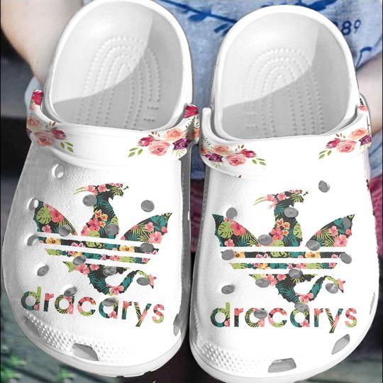 Adidas Dracarys crocs log crocband