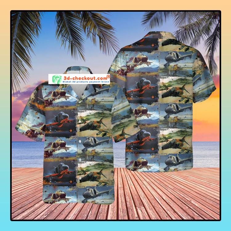 Air Force McDonnell Douglas F 4 Phantom II Hawaiian Shirt And Shorts1