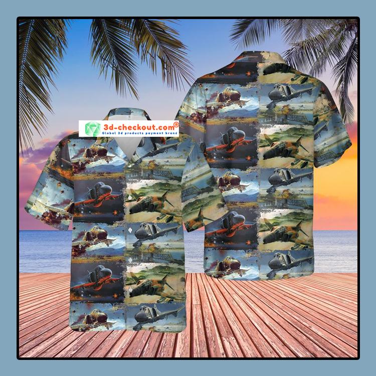 Air Force McDonnell Douglas F 4 Phantom II Hawaiian Shirt And Shorts3