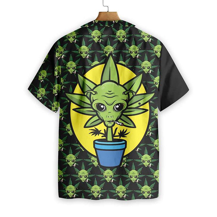 Alien Dont Panic Its Organic Hawaiian Shirt5