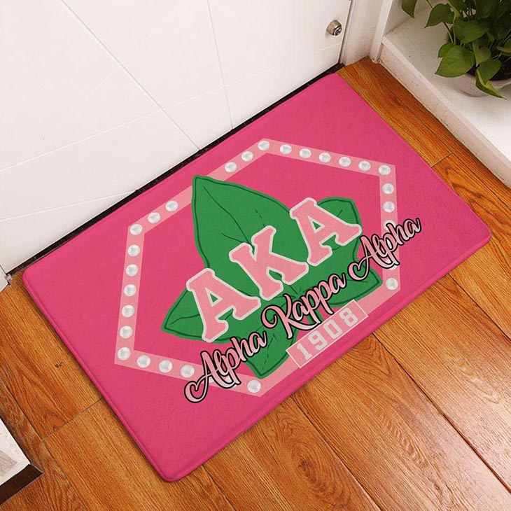 Alpha Kappa Alpha Sorority 1908 Doormat3