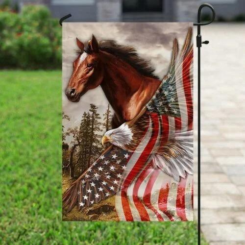 American Eagle Horse flag 3