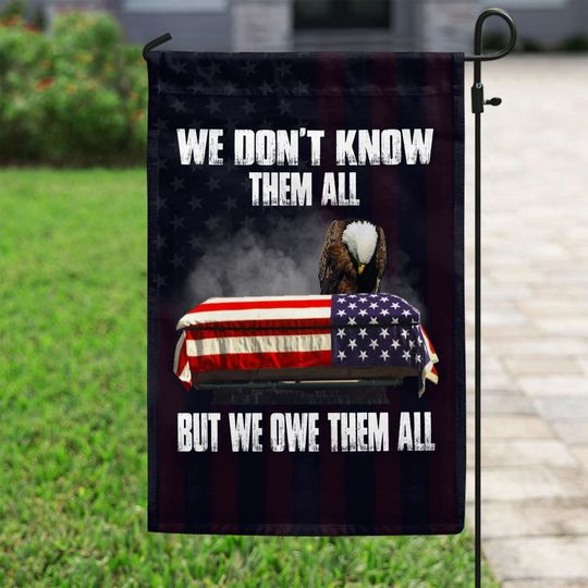 American Eagle We dont know them all but we owe them all flag1
