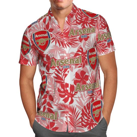 Arsenal 1886 Hawaiian Shirt1