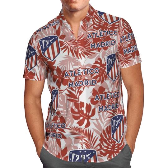 Atletico Madrid Hawaiian Shirt1
