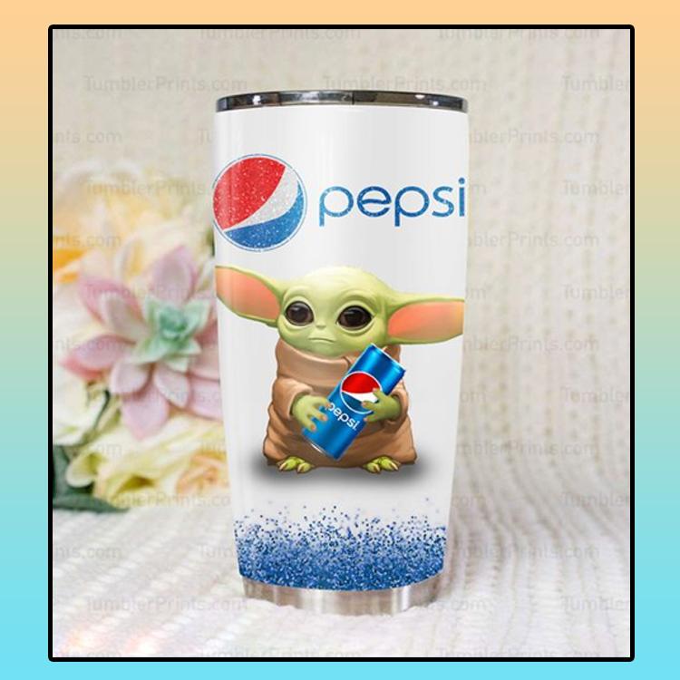 Baby Yoda pepsi tumbler4