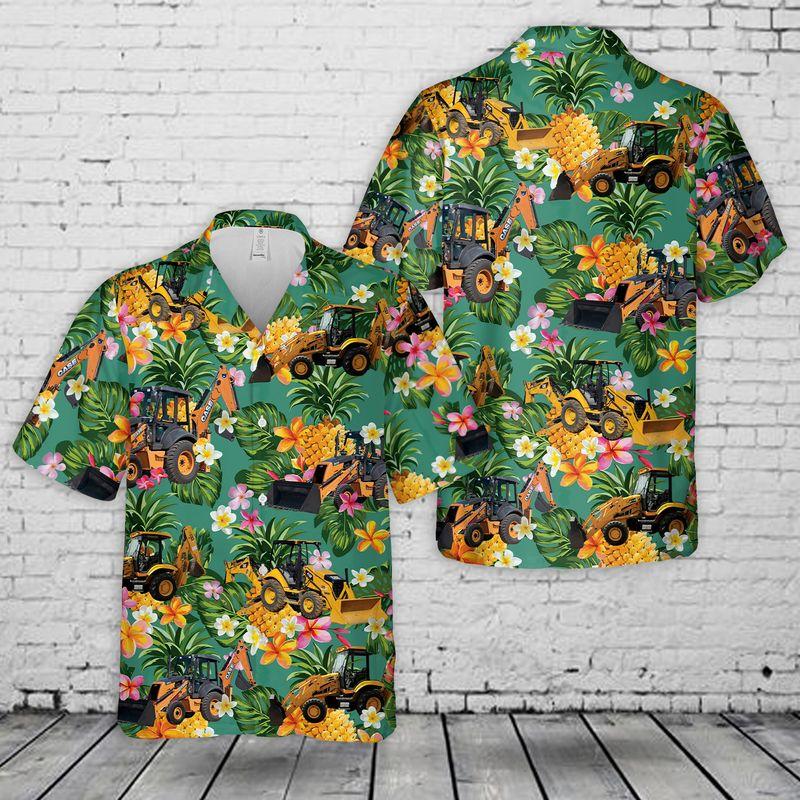 Backhoe Hawaiian Shirt