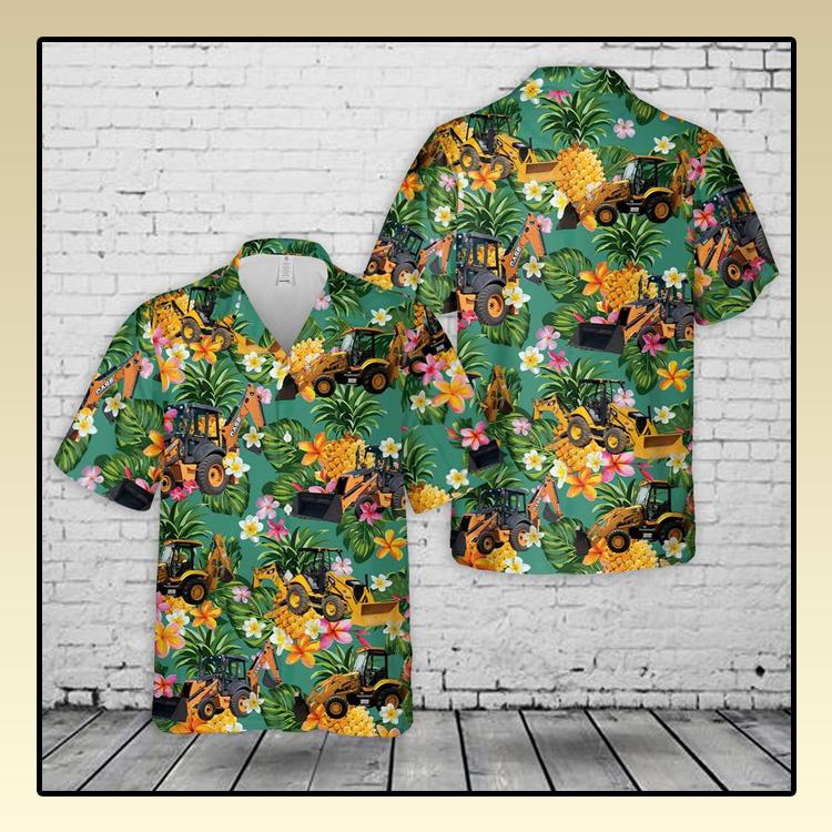 Backhoe Hawaiian Shirt3 1