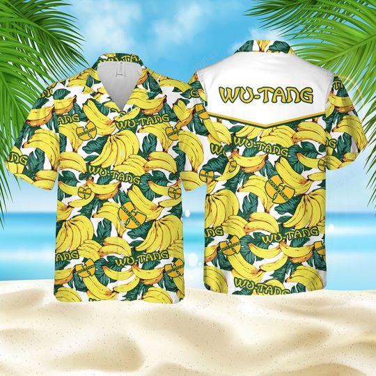Banana Wu Tang Hawaiian Shirt