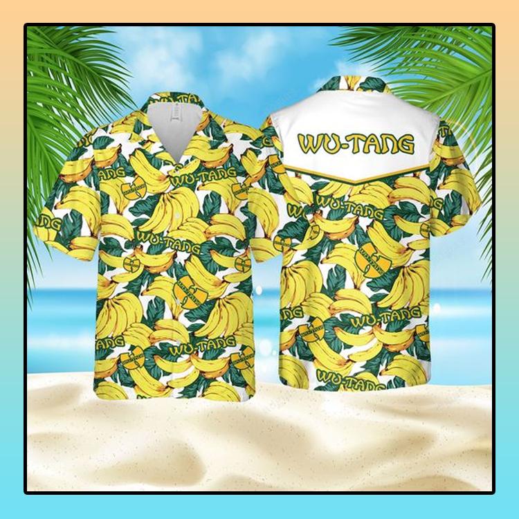 Banana Wu Tang Hawaiian Shirt4
