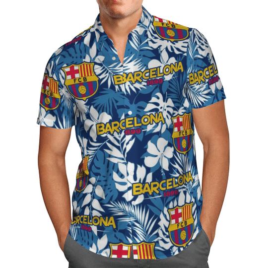 Barcelona 1899 Hawaiian Shirt1