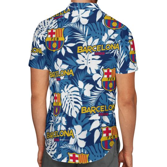 Barcelona 1899 Hawaiian Shirt2