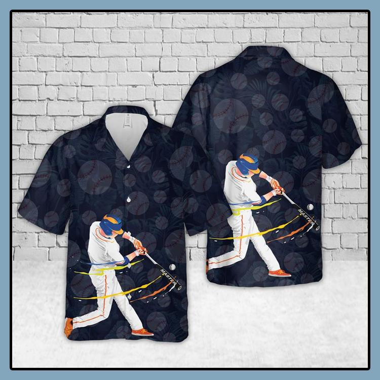 Baseball Batter Hawaiian Shirt1