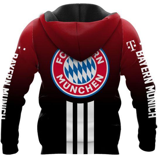 Bayern Munich 3d all over print Hoodie2