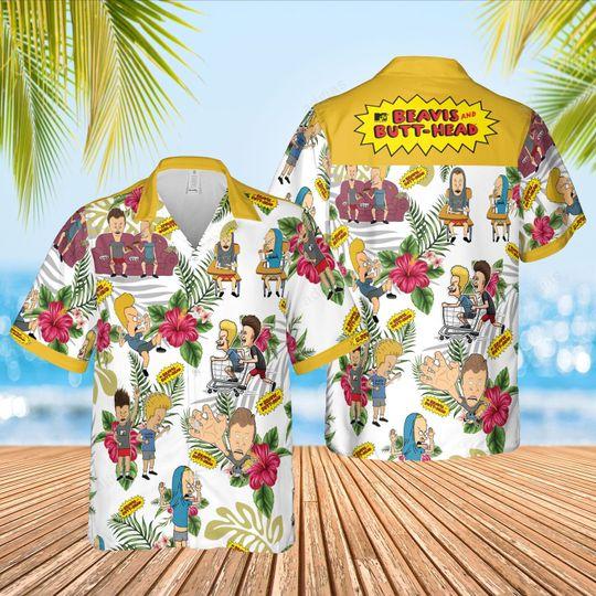 Beavis butt head Hawaiian Shirt