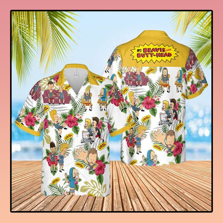 Beavis butt head Hawaiian Shirt3