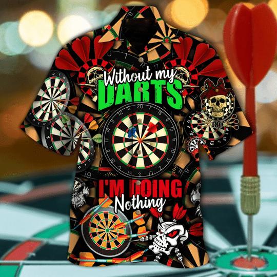 Born to play darts hawaiian shirt