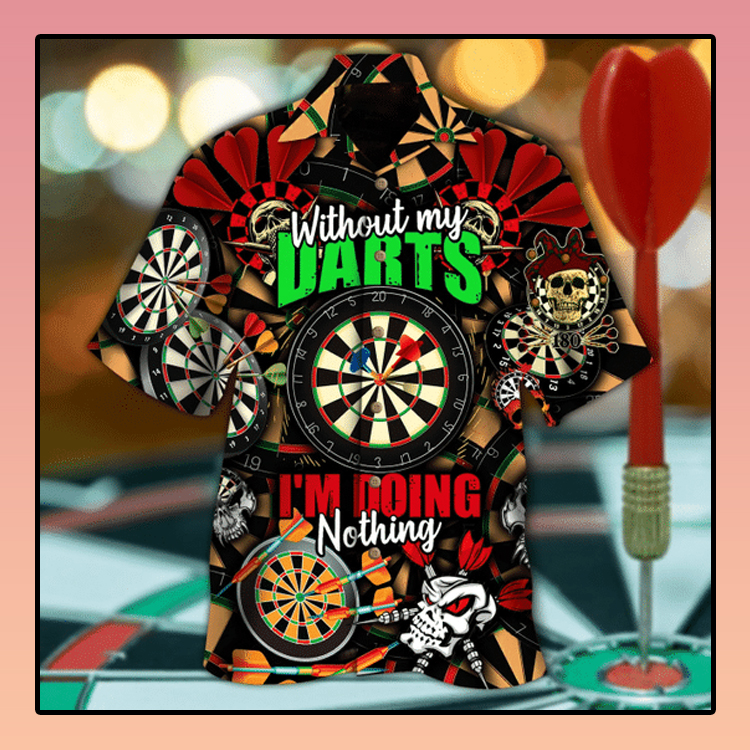Born to play darts hawaiian shirt3