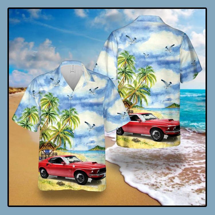 Boss 429 Mustang Hawaiian Shirt4