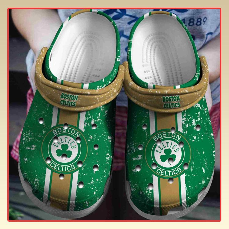 Boston Celtics crocs log crocband3