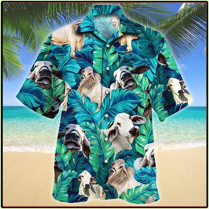 Brahman Cattle Lovers Hawaiian Shirt1 1