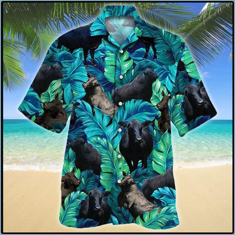 Brangus Cattle Lovers Hawaiian Shirt1
