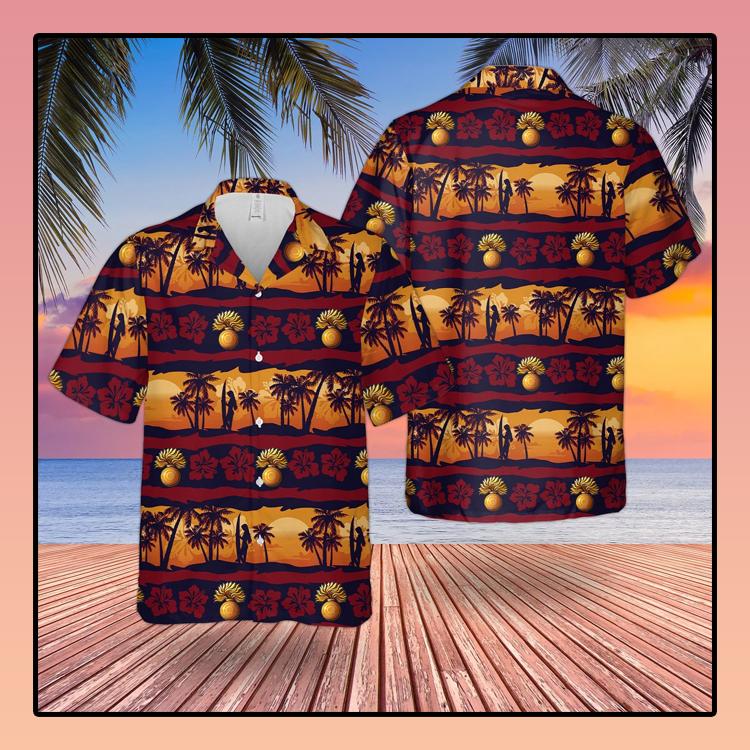 British Army Grenadier Guards Hawaiian Shirt1