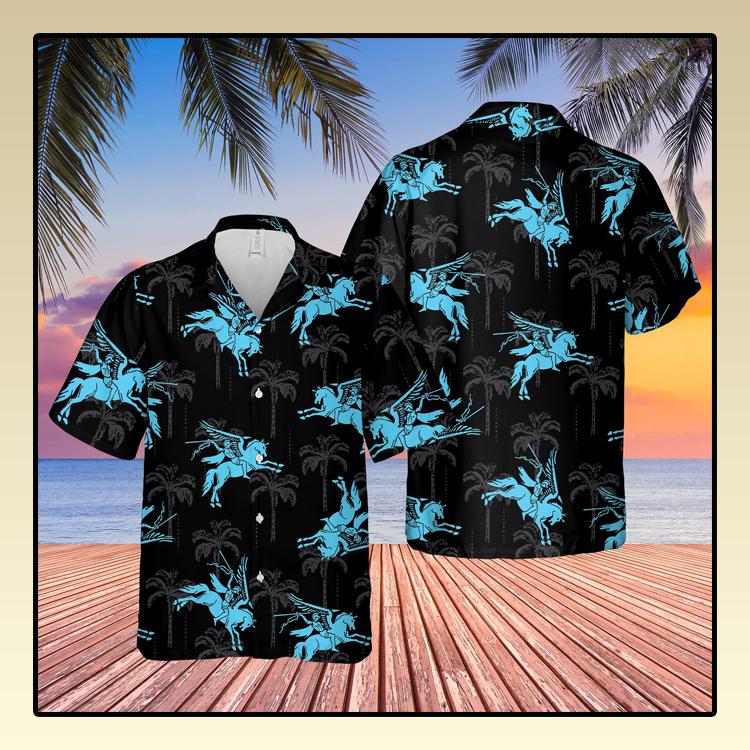 British Army Papas Airborne Forces Pegasus Hawaiian Shirt2