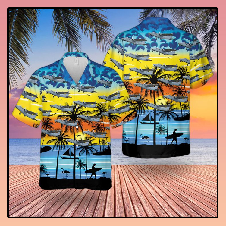 Britten Norman Defender Hawaiian shirt1 1