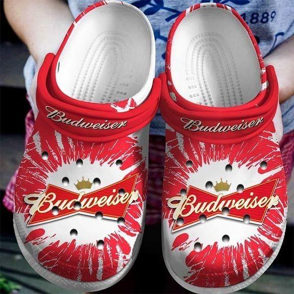 Budweiser Croc shoes crocband