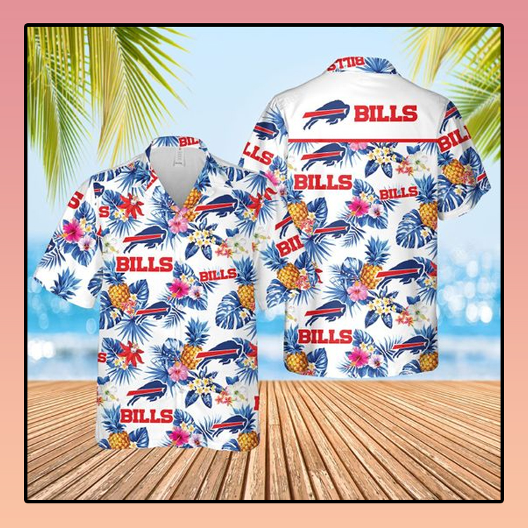 Buffalo Bills Football aloha Hawaiian Shirt2