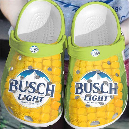 Busch light corn crocs clog crocband