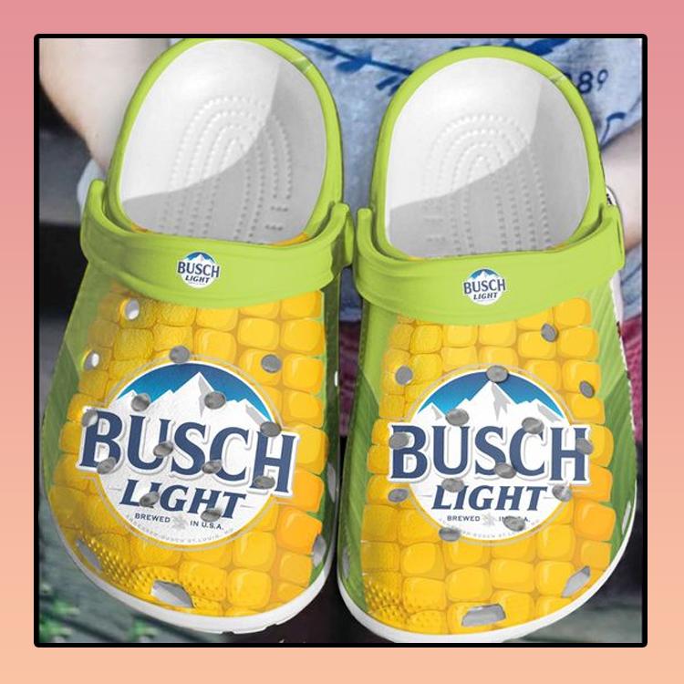 Busch light corn crocs clog crocband3