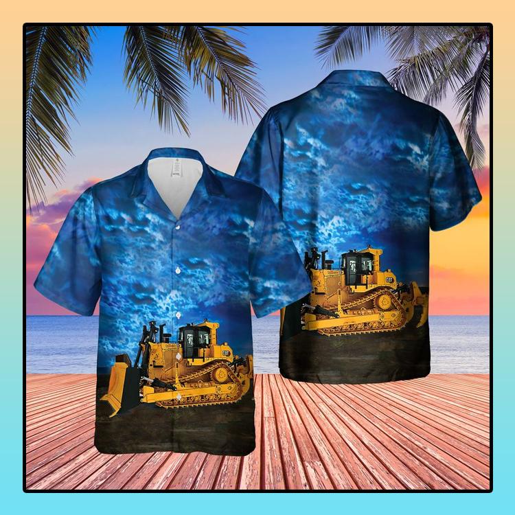 CAT D9 Dozer Hawaiian Shirt3 1